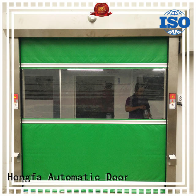Hongfa automatic roll up door in china for storage