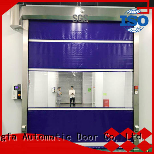high-quality union industries high speed doors remote suppliers for supermarket