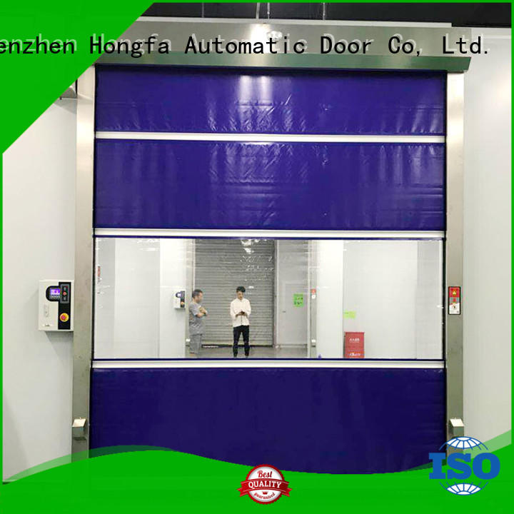 Hongfa perfect high speed door newly for factory