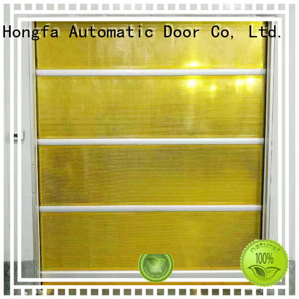 speed high speed shutter door marketing for warehousing Hongfa