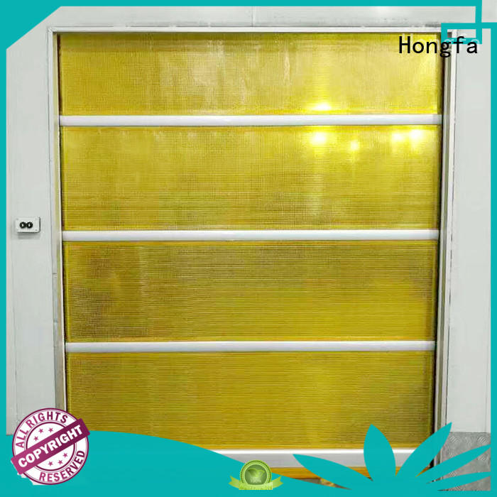 Hongfa professional rapid roller shutter doors factory for storage