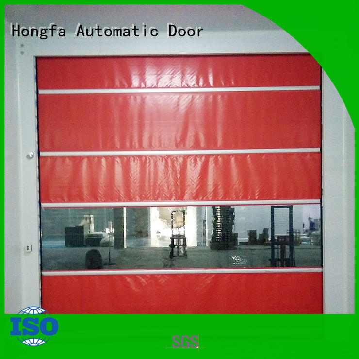 Hongfa professional roll up doors interior newly for factory