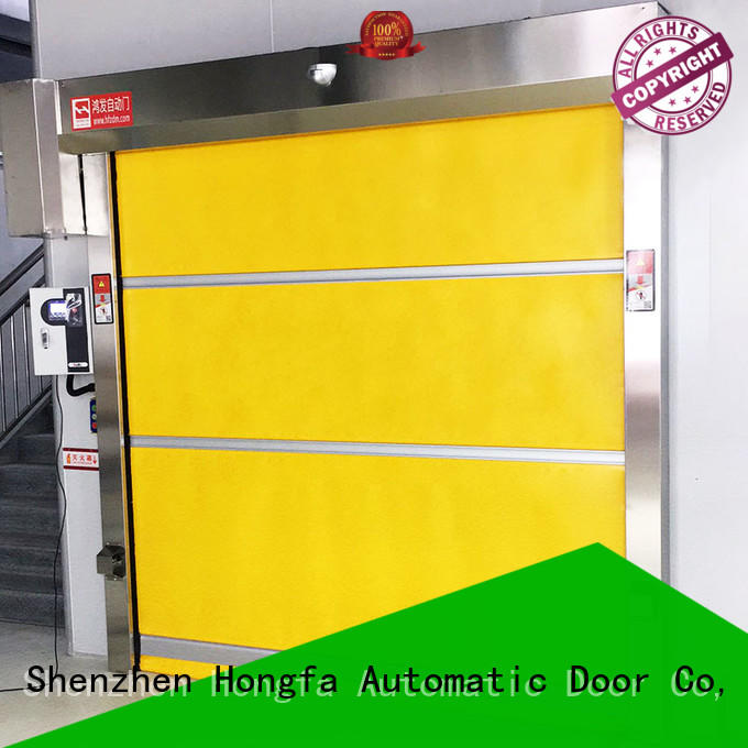 Hongfa remote rapid action doors marketing for factory