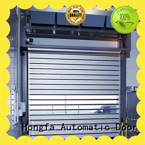 Hongfa industrial spiral fast door shop now for cold room