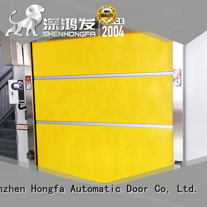 OEM automatic Industrial rolling PVC fast door