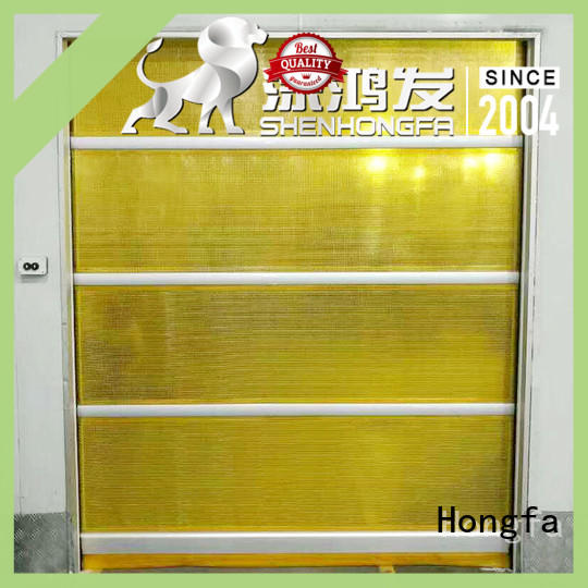 high-quality industrial garage doors in china for factory Hongfa