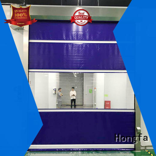 Hongfa high-quality high speed door in different color for storage