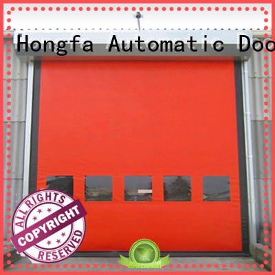 Hongfa zipper high performance doors supplier for warehousing