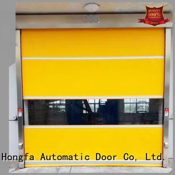 Hongfa pvc high speed door newly for food chemistry textile electronics supemarket refrigeration logistics