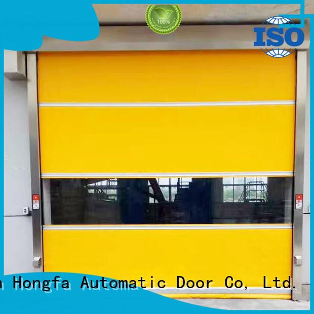 Industrial automatic rolling shutter high speed door
