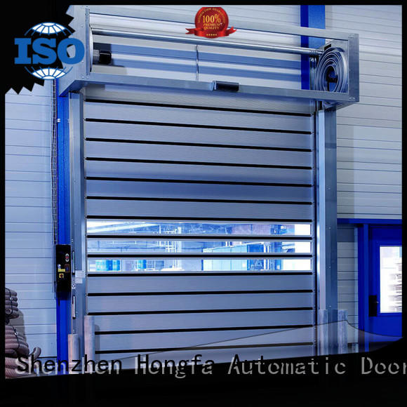 automatic spiral fast door speed for cold room Hongfa