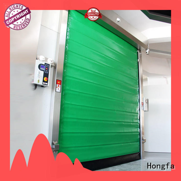 Hongfa automatic cold storage doors manufacturer door for supermarket