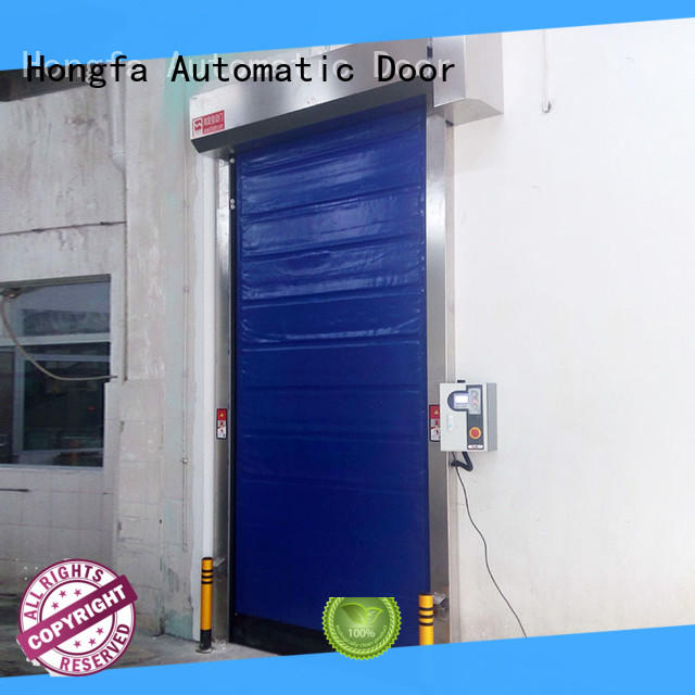shutter cold storage door for-sale for warehousing Hongfa