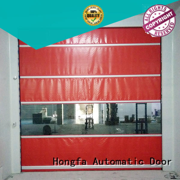 efficient roll up doors interior performance in different color for factory