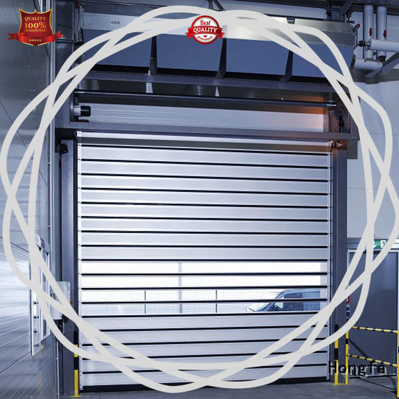 3x3 spiral door industrial for parking lot Hongfa