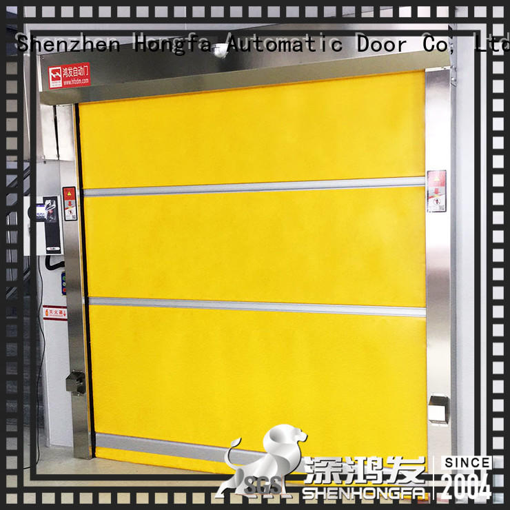 high-speed roll up door fabric in china for storage