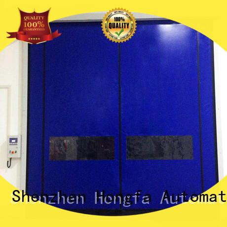 high performance doors selfrepairing for supermarket Hongfa