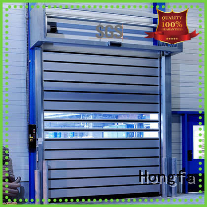 wonderful high speed spiral door fast in different color for industrial warehouse