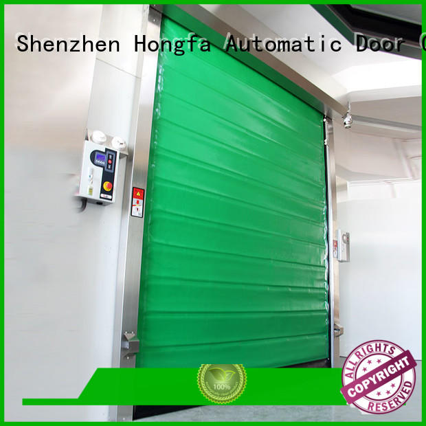 fast door rapid for supermarket Hongfa