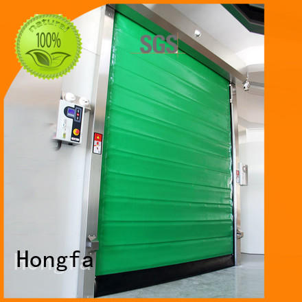 Hongfa high-speed cold storage doors manufacturer rapid for cold storage room