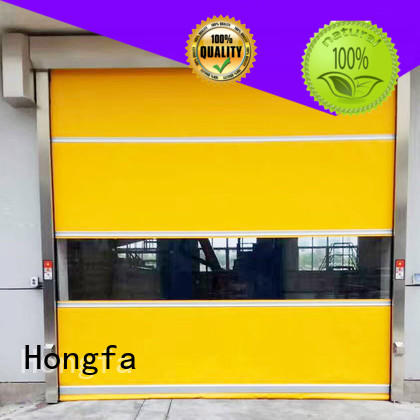 Hongfa safe roll up doors interior in china for storage