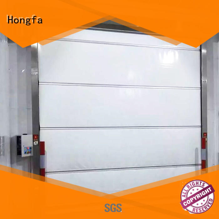 Hongfa high-speed automatic roll up door in china for supermarket
