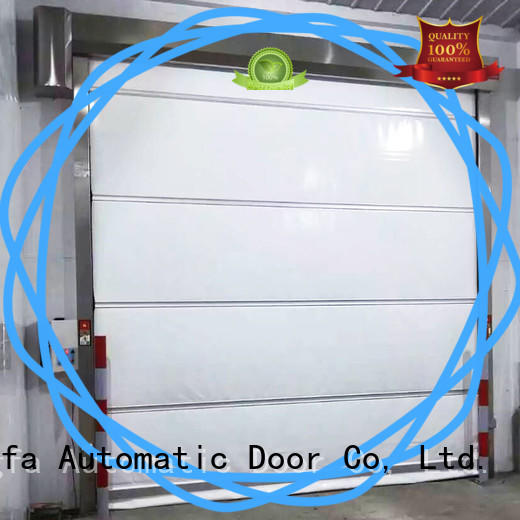 Hongfa safe aluminum roll up doors for business for warehousing