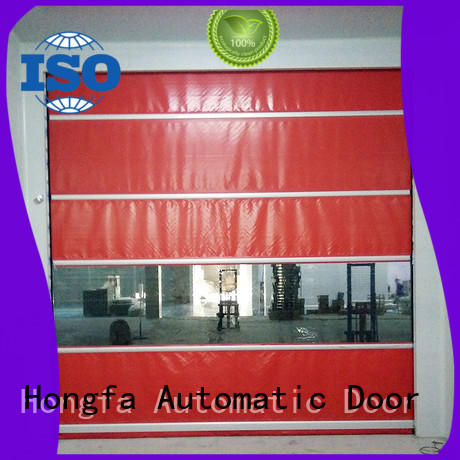 Hongfa performance high speed door in different color for storage
