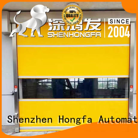 Hongfa industrial PVC fast door factory price for factory
