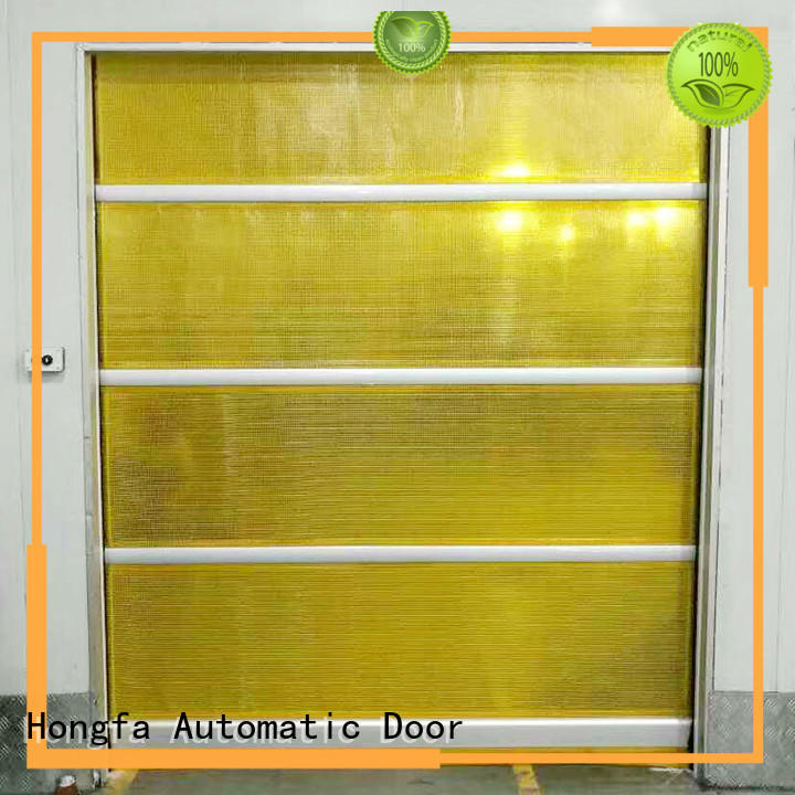 Hongfa automatic automatic roll up door marketing for storage
