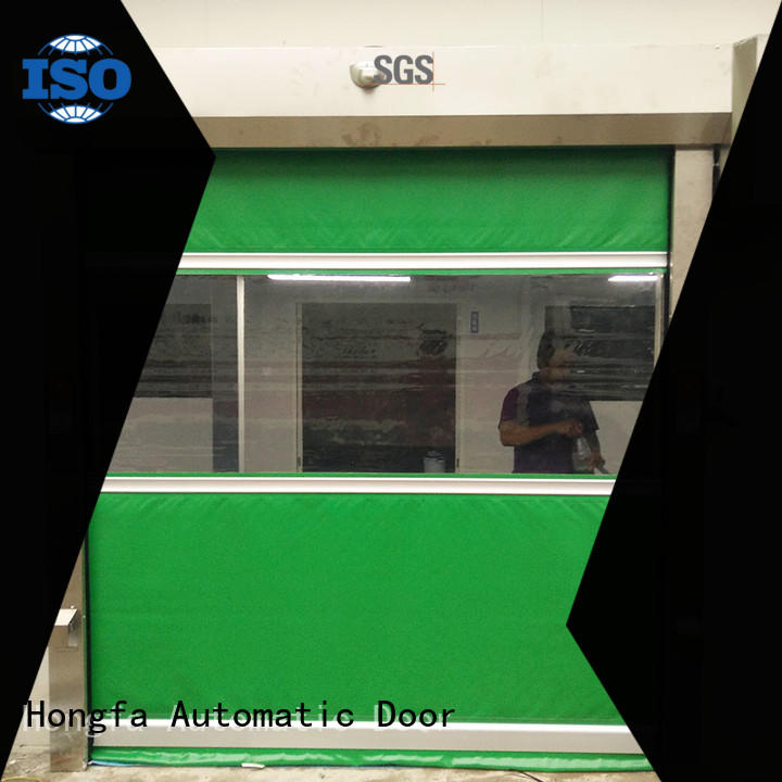 high-quality rapid roll up door control widely-use for food chemistry textile electronics supemarket refrigeration logistics