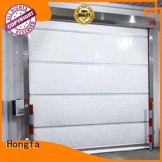 quick roll up high speed door room for storage Hongfa