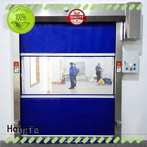 Hongfa automatic high speed shutter door newly for warehousing