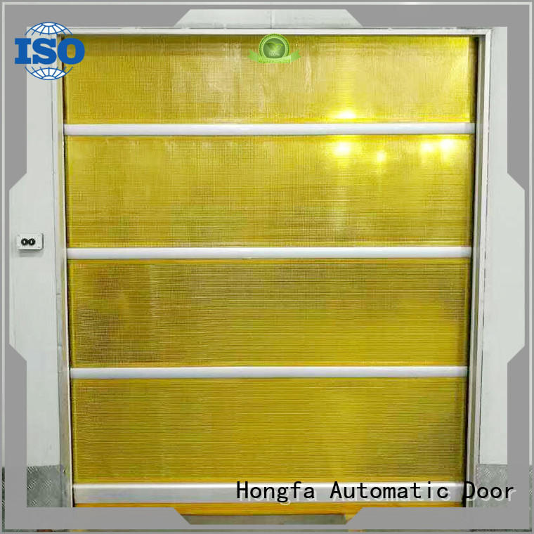 Hongfa perfect overhead coiling door in different color for storage