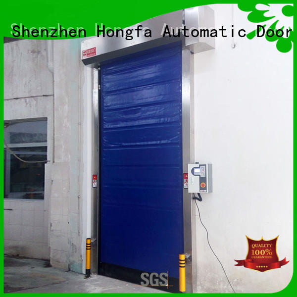 shutter fast shutter door marketing for cold storage room Hongfa