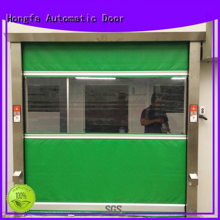 high speed fabric doors oem for storage Hongfa