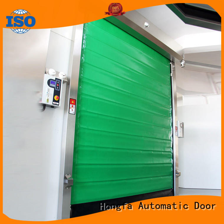 Hongfa automatic cold storage doors manufacturer supplier for food chemistry