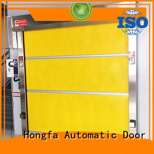 OEM automatic Industrial rolling PVC fast door