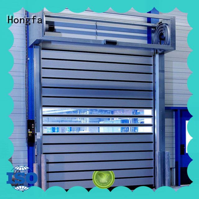 Hongfa fast security door shop now for parking lot