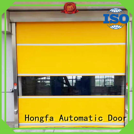 Hongfa curtain PVC fast door supplier for factory
