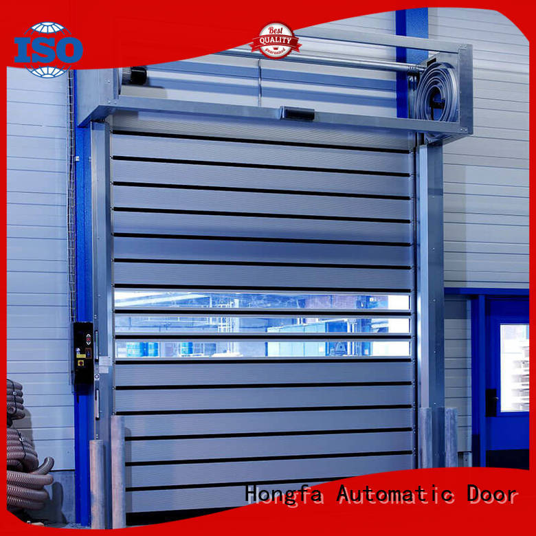Hongfa wonderful spiral fast door supplier for parking lot
