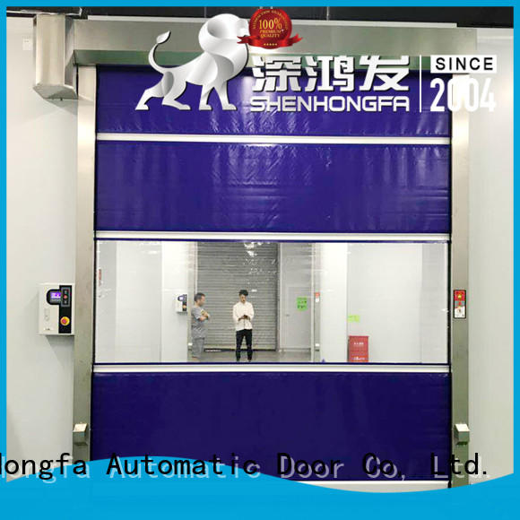 high-speed roll up high speed door clear newly for food chemistry textile electronics supemarket refrigeration logistics