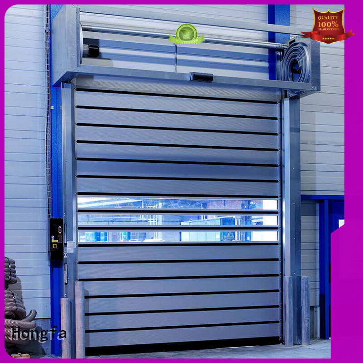 automatic aluminum door types for parking lot