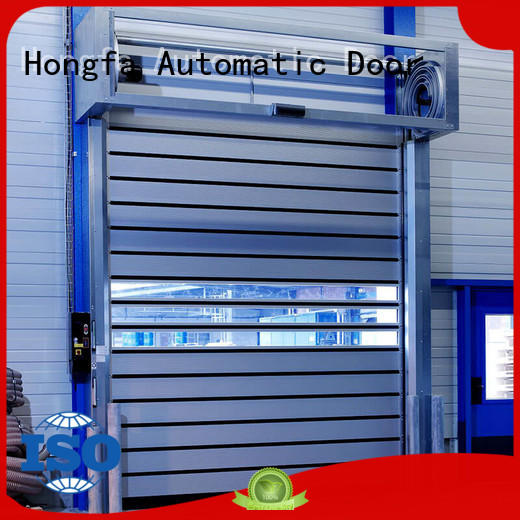 Hongfa professional security door in different color for industrial warehouse