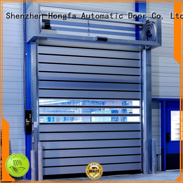3x3 spiral door speed for factory Hongfa