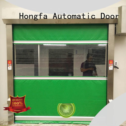 Hongfa action PVC fast door marketing for warehousing