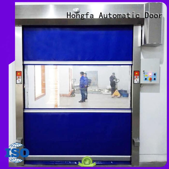 professional fabric door newly for storage Hongfa