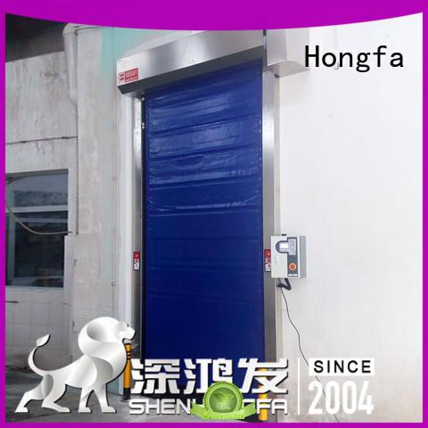 Hongfa rapid cold storage doors overseas market for cold storage room