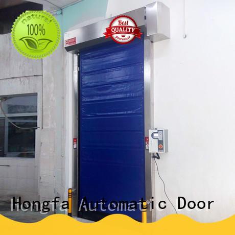 Hongfa foam cold storage door for supermarket