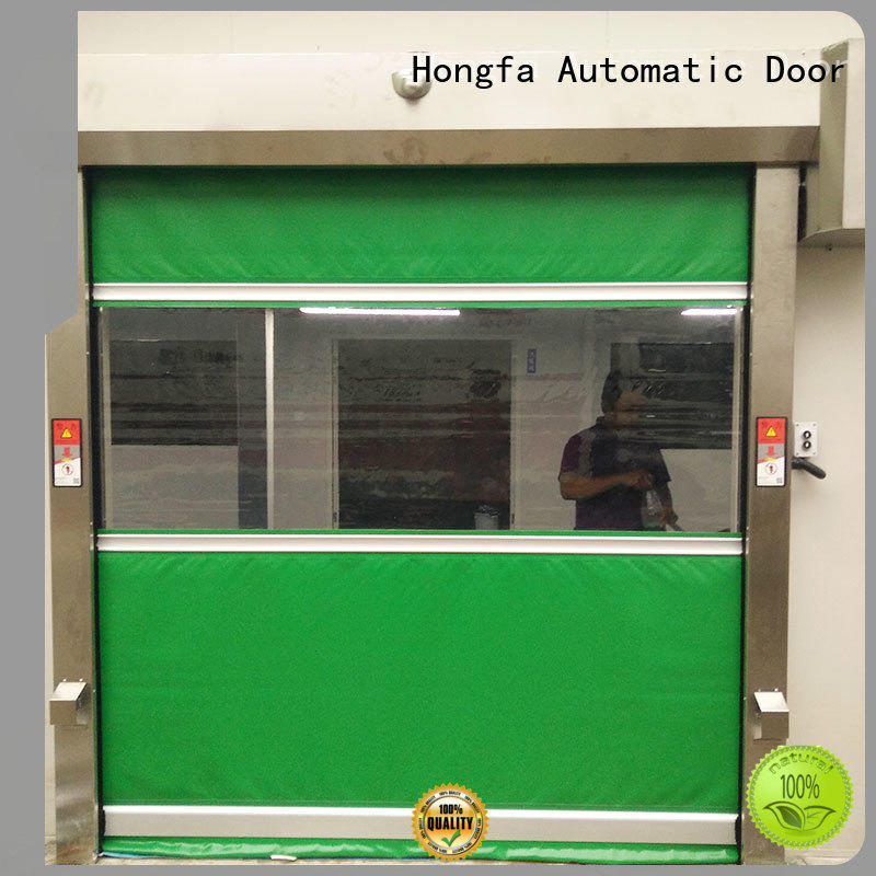 Clear Room Fast Fabric Rolling up Door